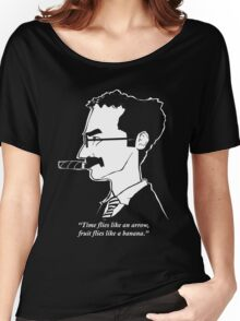Groucho Marx flies like a t-shirt Women's Relaxed Fit T-Shirt