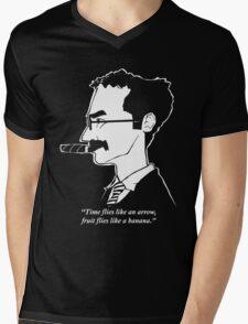 Groucho Marx flies like a t-shirt Mens V-Neck T-Shirt