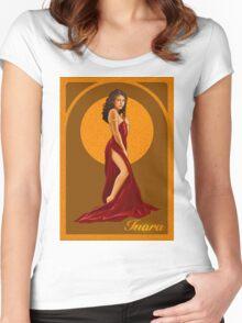 Art Nouveau Inara Serra Women's Fitted Scoop T-Shirt