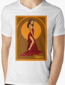 Art Nouveau Inara Serra Mens V-Neck T-Shirt