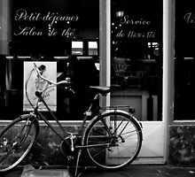 Paris Bicycle by Louise Fahy