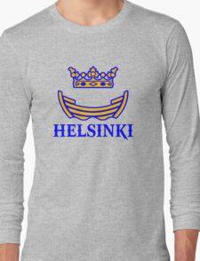 helsinski boat crown Long Sleeve T-Shirt