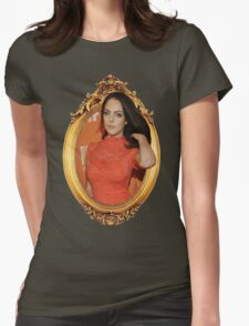 Gold Framed Gillies 4 Womens Fitted T-Shirt