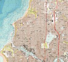 USGS Topo Map Washington State WA Seattle North 243620 1983 25000 Sticker