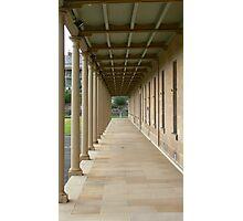 Barracks Perspective Photographic Print