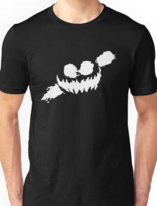 Haunted Smile white Unisex T-Shirt