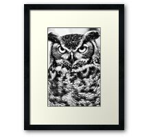 WHO ! Framed Print