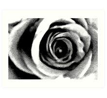 Conceptual Rose Art Print