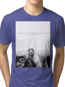 All Things Truly Wicked Start From Innocence - Hemingway Tri-blend T-Shirt