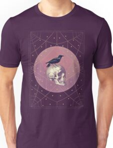 Crow and Skull Collage Unisex T-Shirt