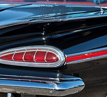 1959 Chevrolet Impala Taillight by Jill Reger