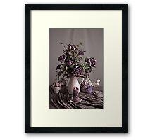 The Pleasures of Purple Framed Print