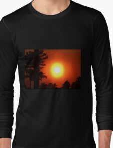 Very Colorful Sunset Long Sleeve T-Shirt