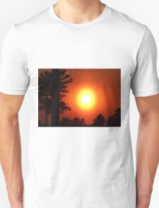Very Colorful Sunset Unisex T-Shirt