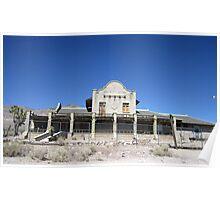 Depot At Rhyolite, Nevada Poster
