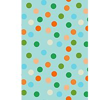 Beach polka dots Photographic Print