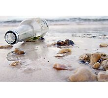 Washed Up on the Beach  Photographic Print