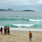 Copacabana beach, Rio by Maggie Hegarty