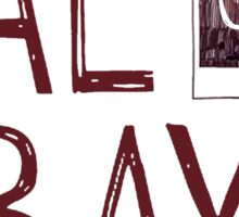 Bae over Bay - Life Is Strange Sticker