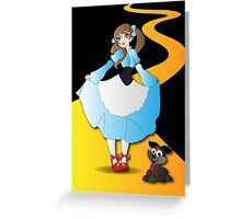 Twisted - Wizard of Oz  Greeting Card