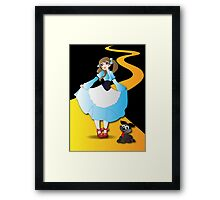 Twisted Tales - Wizard of OZ Framed Print