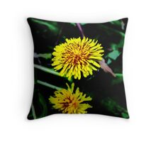 The Dandy Lion Throw Pillow