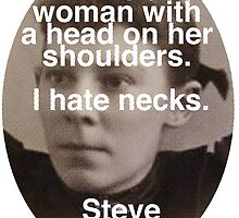 I like Woman Without Necks - Steve Martin by redandy