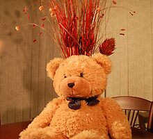"Faith, The Cancer Research Bear....""Celebration"" by The-Stranger"