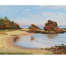 'LET'S GO FOR A SWIM!'  Oil painting. Nambucca Heads, N.S.W.Australia. Photographic Print