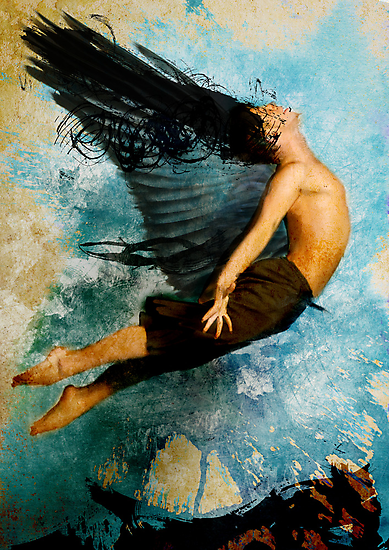 Flight of Icarus by masterizer