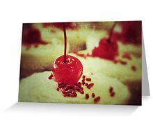 Cherry topper Greeting Card
