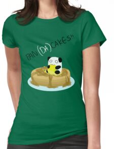 Pan(da)cakes!! Womens Fitted T-Shirt