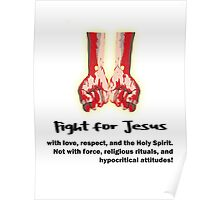 Fight for Jesus Poster
