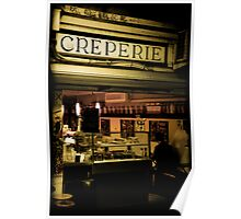 The Creperie Poster