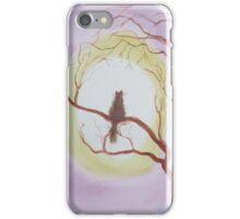 Cat in a tree. iPhone Case/Skin