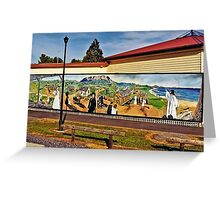 Town of Murals Greeting Card