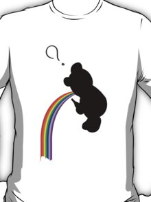 TEDDY RAINBOW VOMIT T-Shirt