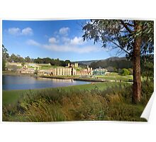 Historic site landscape - Port Arthur Historic Site, Tasmania Poster