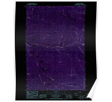 USGS Topo Map Washington State WA Dole 240873 1986 24000 Inverted Poster
