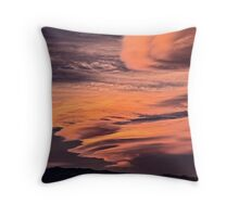 Riding the Wild Sky Throw Pillow