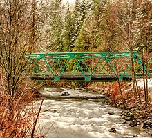 Green Bridge by Dale Lockwood