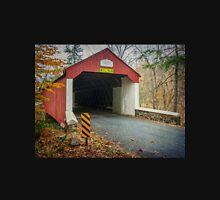 Cabin Run Covered Bridge Long Sleeve T-Shirt