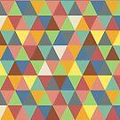 Hippy triangles by Morag Anderson