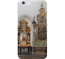 Religious art, Neumunster, Wurzburg, Germany iPhone Case/Skin