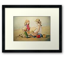 Almost Three Framed Print