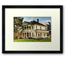 Neely Mansion Framed Print