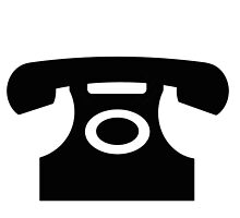 Telephone sign as clipart by naturaldigital