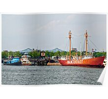 Boston: The Nantucket Lightship Poster