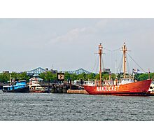 Boston: The Nantucket Lightship Photographic Print