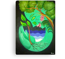 Save Nature Canvas Print